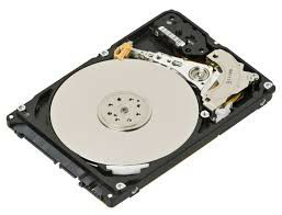 Hard disk interior