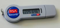 Image of RSA SecureID token