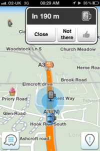 Waze Screen Shot